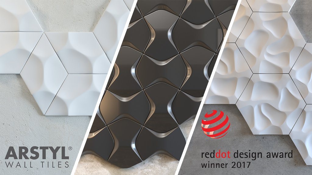 Triple awards for NMC products at the Red Dot Award: Product Design 2017