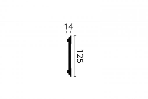 Z12 2m ARSTYL® Dado Rail