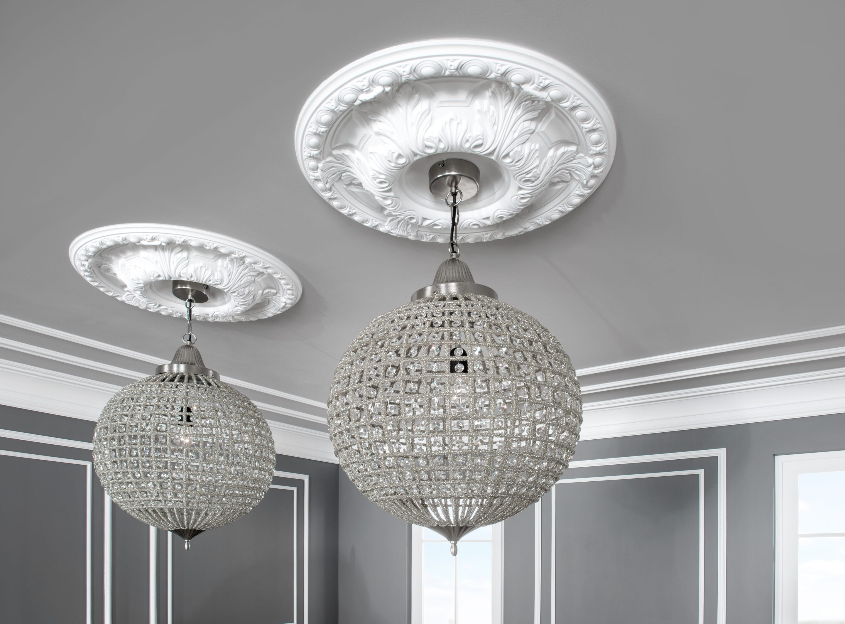Ceiling Roses Roman Victorian Georgian Art Deco And