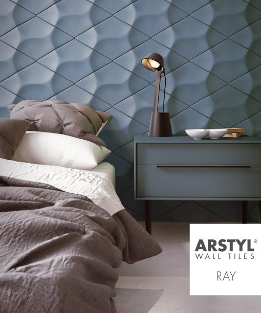 ARSTYL 3D Wall Tiles RAY Room Shot