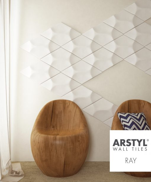 ARSTYL 3D Wall Tiles RAY Room Shot 3