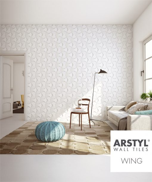 ARSTYL 3D Wall Tiles WING Room Shot