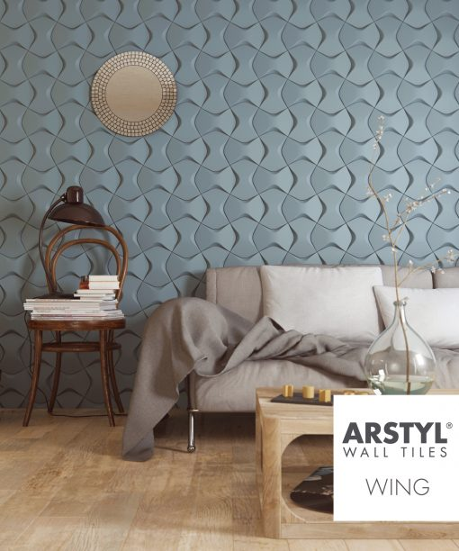 ARSTYL® 3D Wall Tiles WING Room Shot