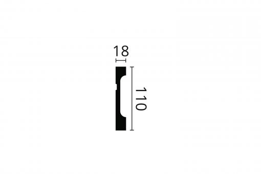 WALLSTYL® FD11 Technical Drawing