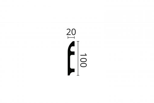 WALLSTYL® FL5 technical drawing