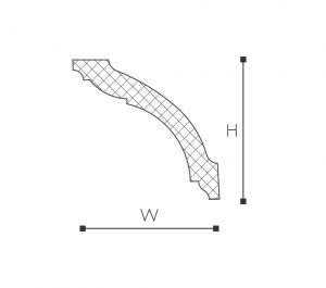Carlotta WT15 Line Drawing