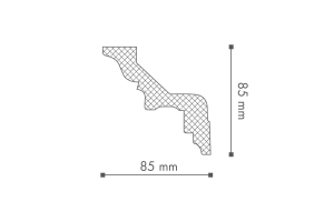 ARSTYL® Dana Z2 2.44m Coving