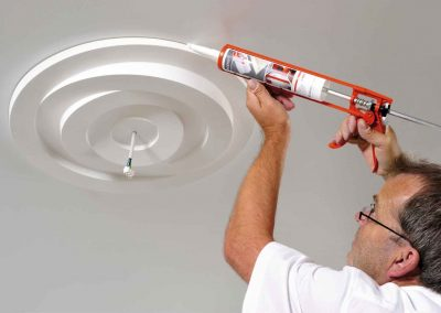 Installation of Ceiling Roses