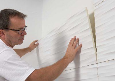 Installation of Wall Panels